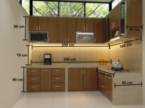 Harga Kitchen Set Minimalis Murah