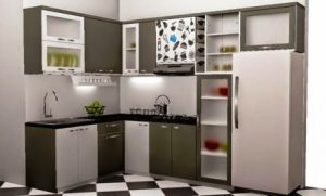 Harga Kitchen Set Minimalis Per Meter