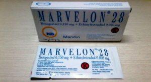 Harga Pil KB Marvelon 28