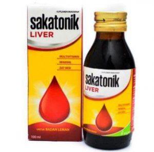 Harga Sakatonik Liver Syrup