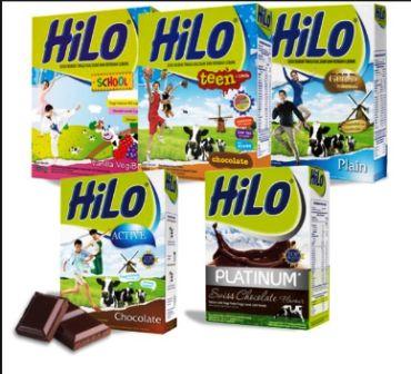 Susu mana yg lebih tinggi kalsium.. HiLo,Zinc,Dancow,Boneto?