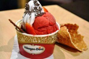 Harga es Cream Haagen Dazs