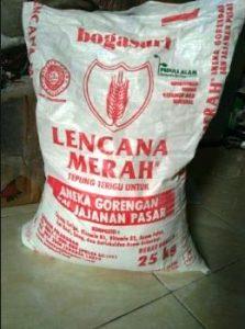 harga tepung terigu lencana merah 25 kg