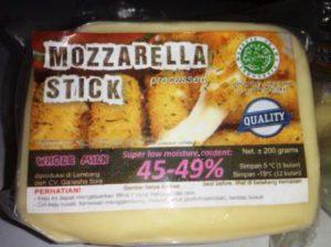 harga keju mozarella stick
