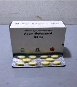 Harga Asam Mefenamat 500 Mg