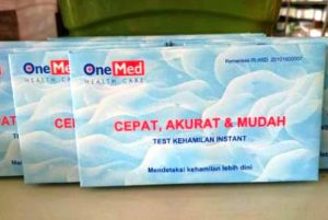 Harga test pack one med