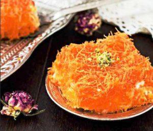 harga Cheese Kunafa Plate