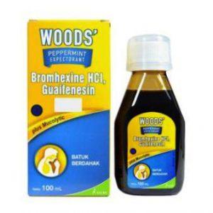 harga woods obat batuk kering