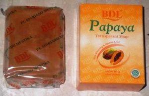 Harga Sabun Pepaya