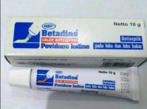 Harga salep Betadine 10 gram