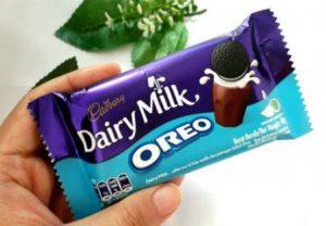 harga coklat Cadbury oreo