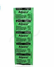 harga obat alpara di apotik