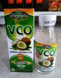 harga virgin coconut oil di apotik