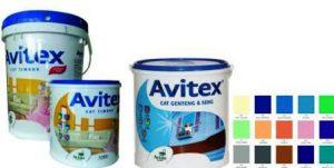 harga cat Avitex 25 kg