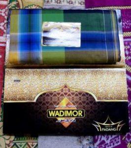 Harga sarung wadimor motif Padang