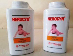 harga bedak herocyn baby