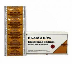 Harga obat flamar 25mg