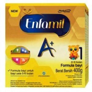 Harga susu Enfamil A+