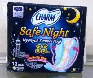 harga pembalut chram night