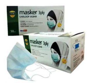 harga masker Sensi headloop 3 ply