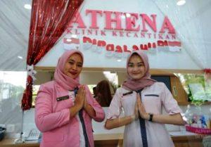 Harga infus Whitening di klinik Athena di Makasar