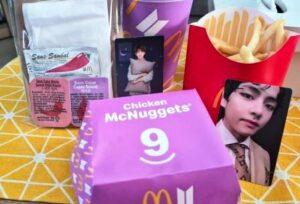 Harga Meal Bts MCD