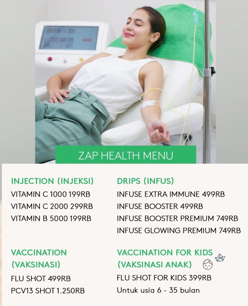 Harga Perawatan di ZAP Clinic - Copy