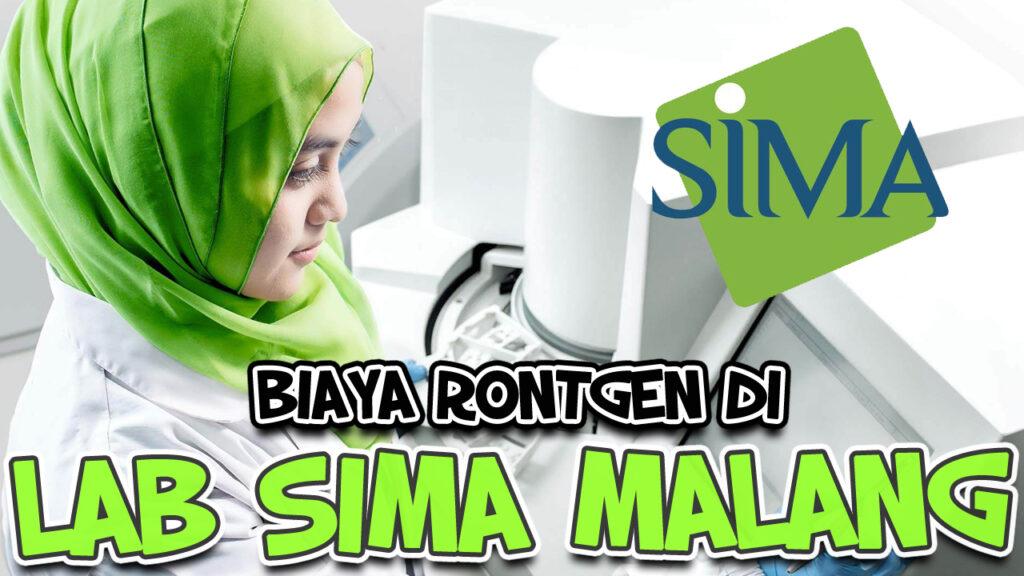 Biaya Rontgen Sima Lab malang